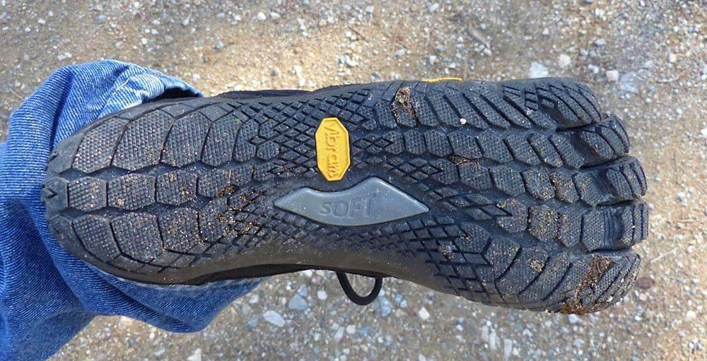 Semelle des chaussures minimalistes Vibram FiveFingers Trek Ascent Insulated