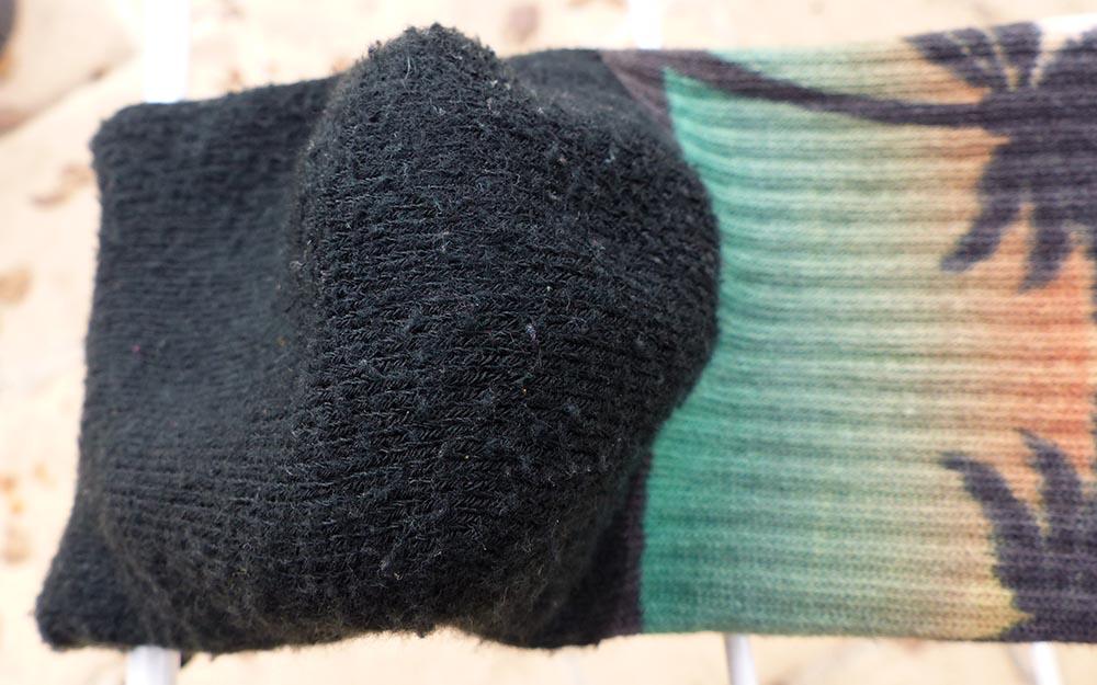 Usure des chaussettes à 5 doigts Injinji pour le trail