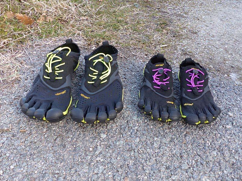 J'ai testé : les chaussures à orteils Vibram FiveFingers