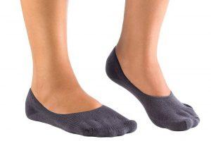Chaussettes à 5 doigts Knitido avec l'apparence d'une chaussette normale
