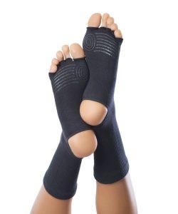 KNITIDO chaussettes à orteils et talon libre