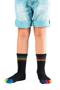 Chaussettes à doigts enfant KNITIDO