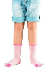 Chaussettes à 5 doigts pour fille KNITIDO
