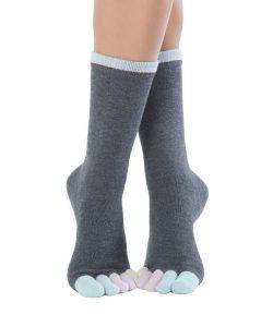 Chaussettes à doigts Cotton Candy KNITIDO
