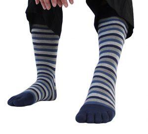 Chaussettes à 5 doigts pour homme de la marque ToeToe