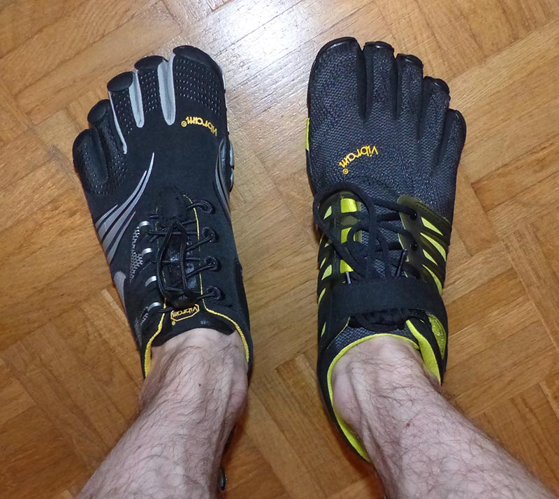 Photo de FiveFingers V-Train et Komodo Sport LS
