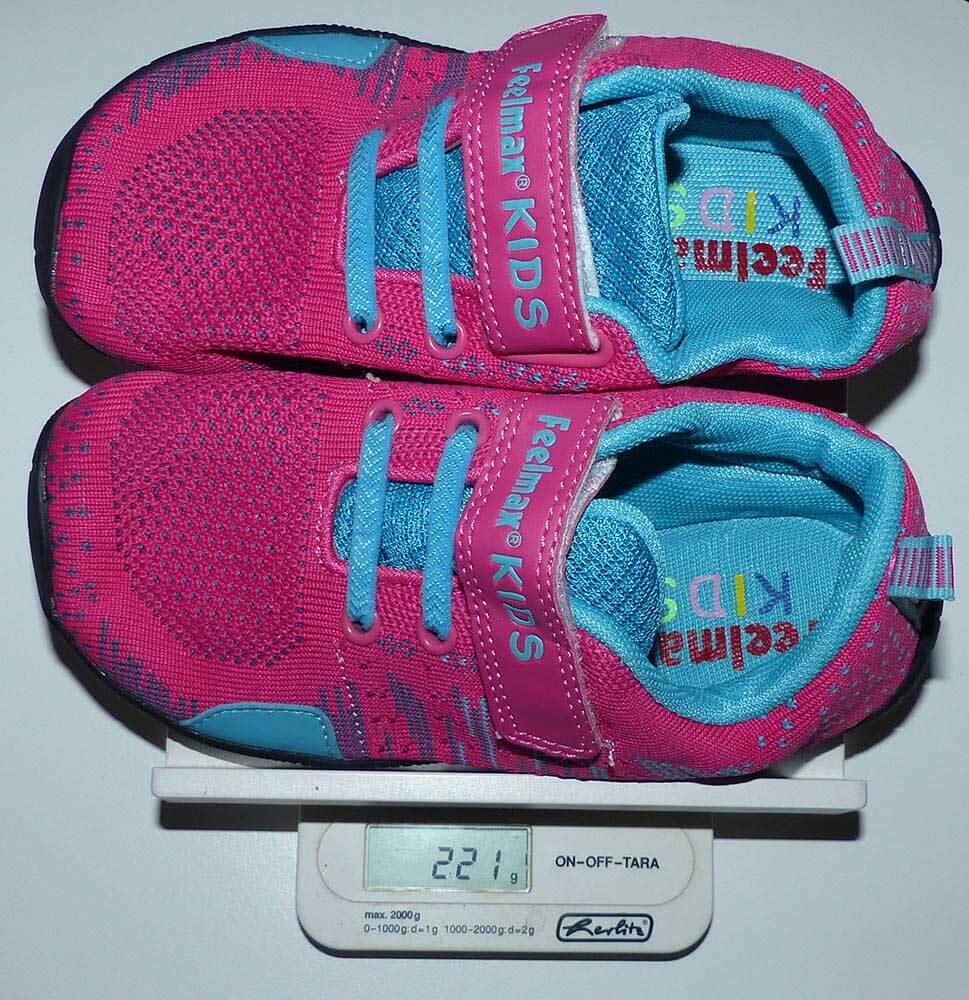 Poids Luosma : chaussures minimalistes enfants