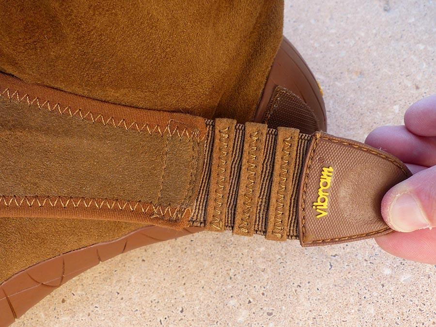 Photo de la partie élastique avant le scratch (en tirant dessus