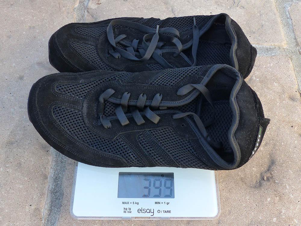 Photo des MS Receptor Explorer sur une balance : 399 grammes