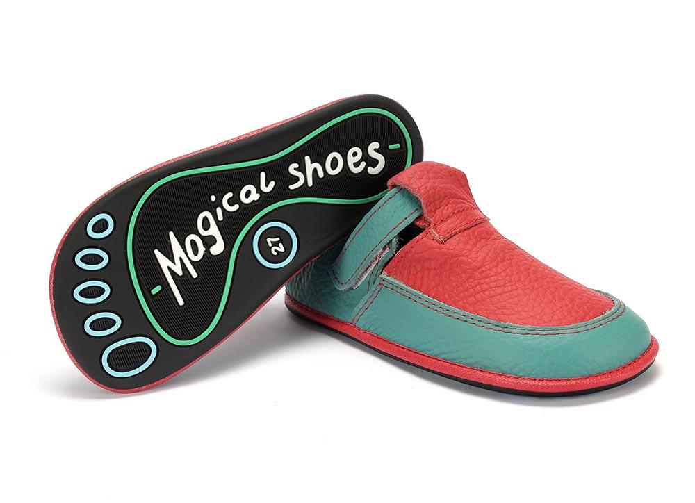 Chaussures minimalistes enfants, modèle Lulu de Magical Shoes