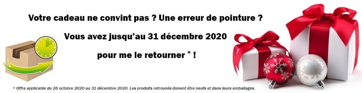 Pour Noël, les délais de retour sont rallongés jusqu'au 5 janvier 2020